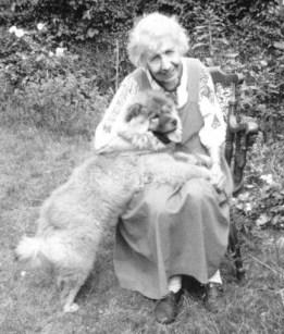 1980 Anna Freud és Jofi leszármazottja