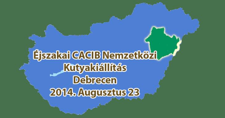 Éjszakai CACIB Nemzetközi Kutyakiállítás - Debrecen - 2014. Augusztus 23