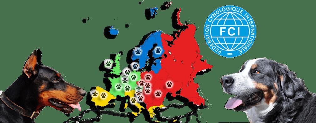 FCI – Euro Dog Show kiállítási naptár
