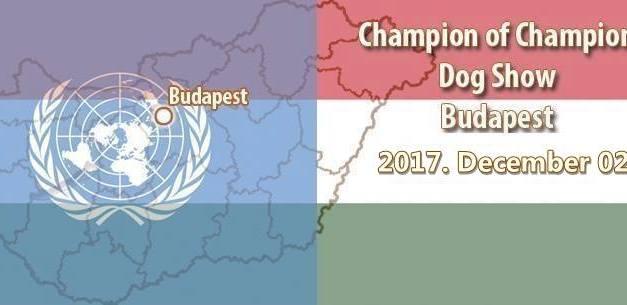 Champion of Champion Dog Show – Budapest – 2017. December 02.