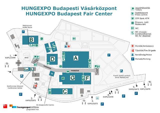 Hungexpo térkép