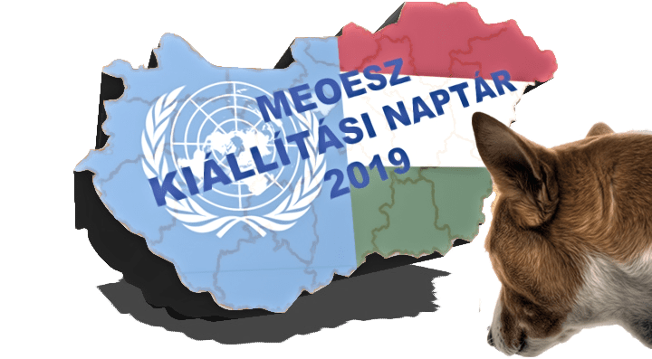 2019. annual dog show calendar - Hungarian Kennel 'Association