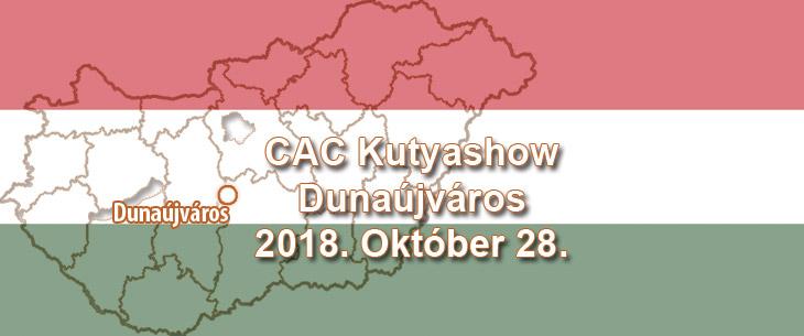 CAC Kutyashow – Dunaújváros – 2018. Október 28.