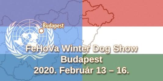 FeHoVa Winter Dog Show – Budapest – 2020. Február 13 – 16.