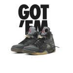 SNKRS NIKE AIR JORDAN 5 RETRO x OFF-WHITE