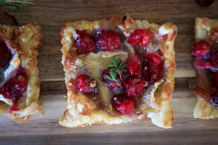 Cranberry Brie Tarts