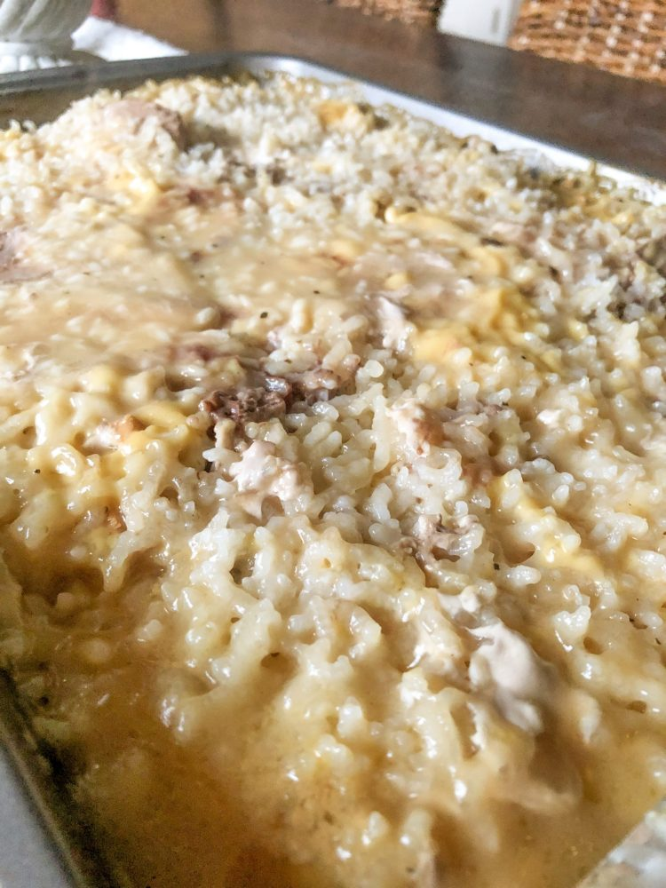 Creamy Pork Chops and Rice