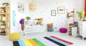 Tapety a koberčeky do detskej izby? Jednoznačne áno!