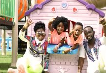 okyeame kwame and his family