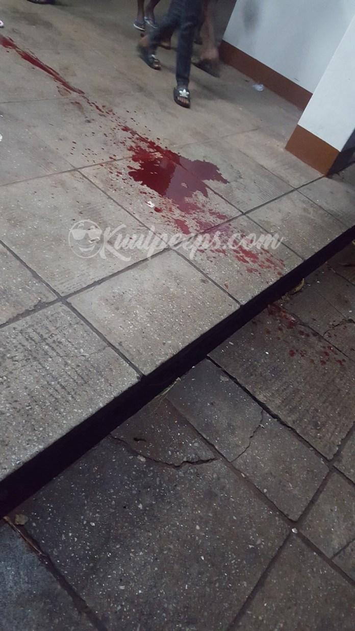 Vandal stabbing