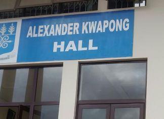 Kwapong Hall, UG, Legon