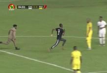 Ghana vs South Africa pitch invader. Pulse Gh