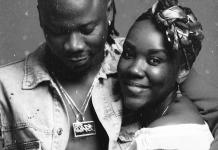 Stonebwoy and his wife Louisa