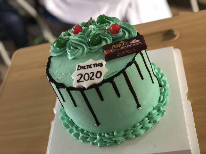 cake of Dietetics class of 2020