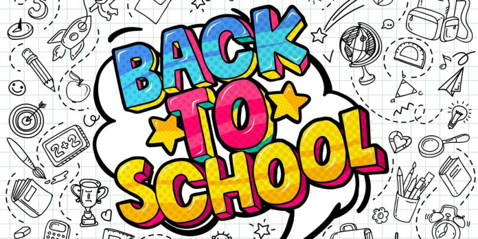 Back to school ad
