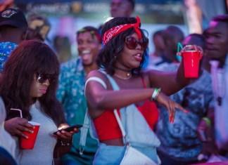 Ghanaians having fun