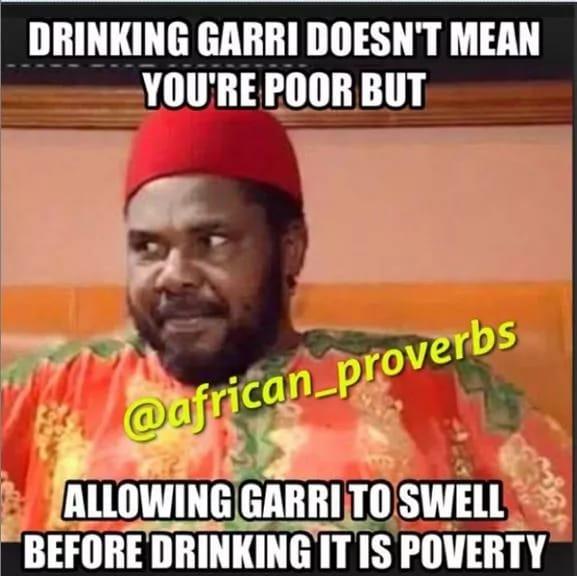 Pete Edochie proverbs
