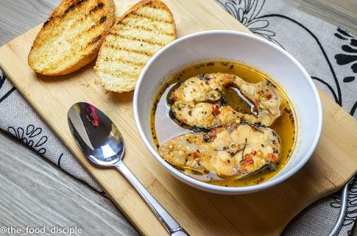 bread and pepper soup