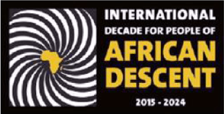 International Decade for People of African Descent Logo