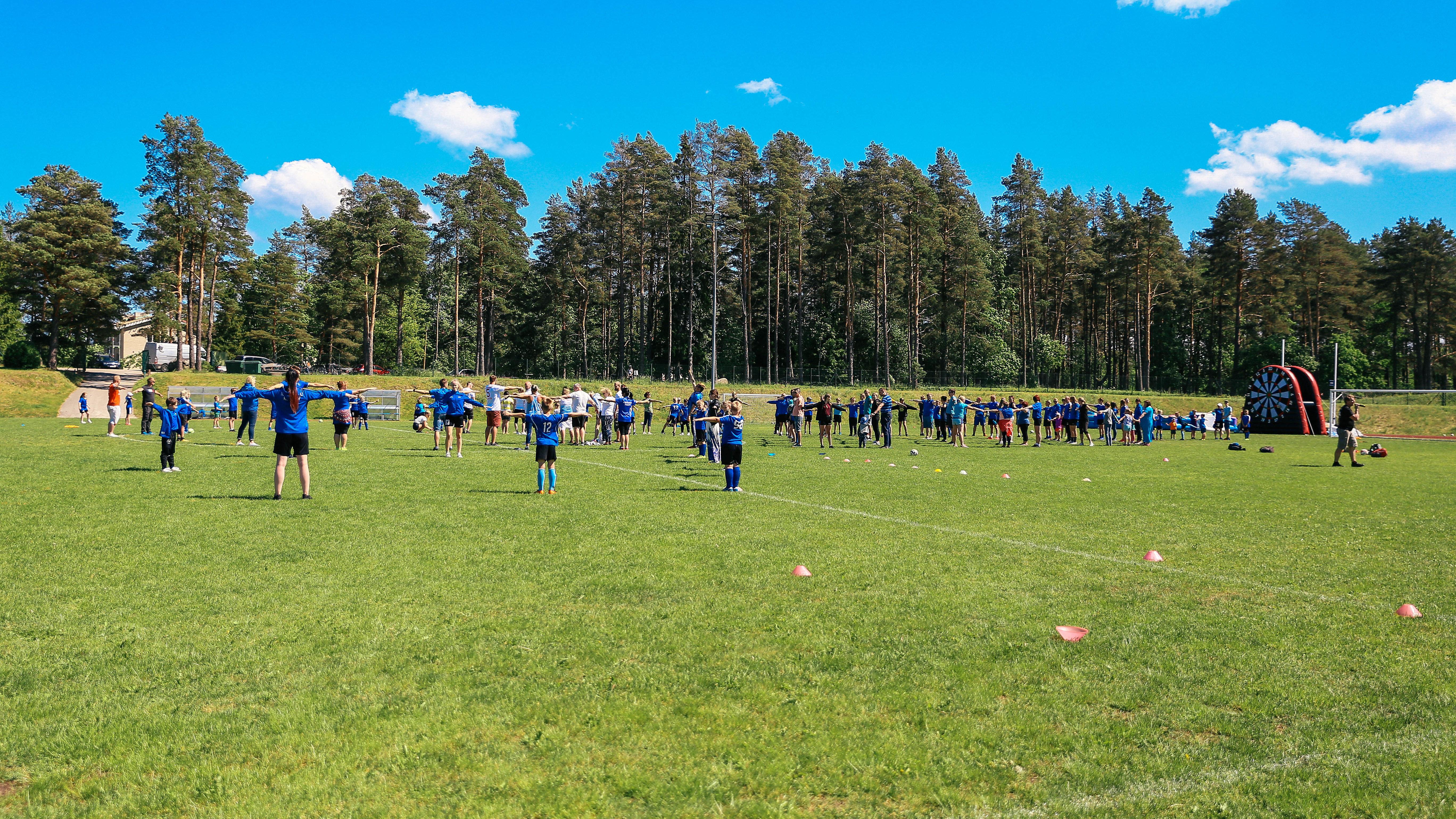 Kuusalu Kalev korraldas jalgpallipeo