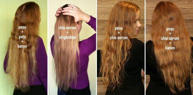juuksed ja tšiiaseerum