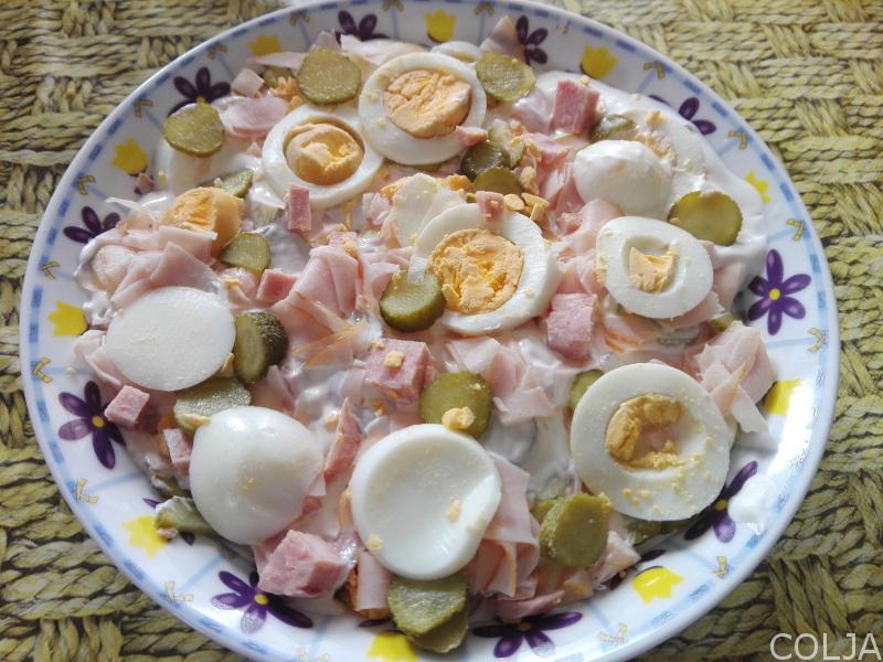 Svečana salata priprema