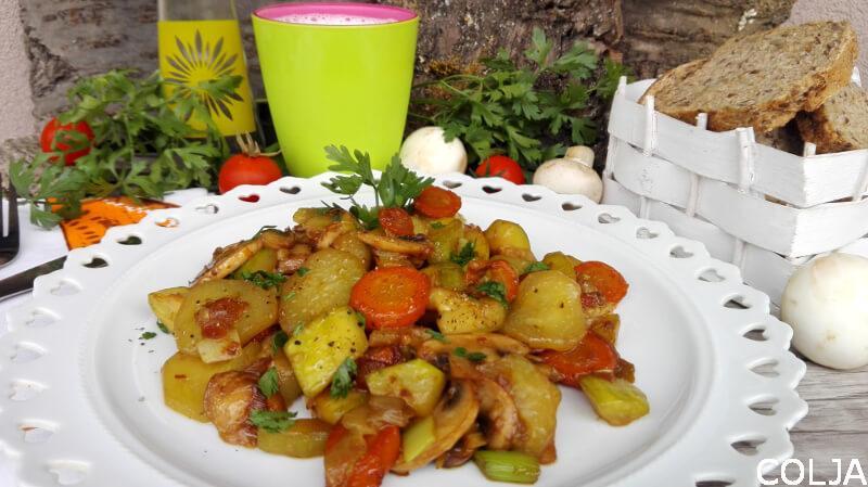 povrće sa šampinjonima i soja sosom (1)