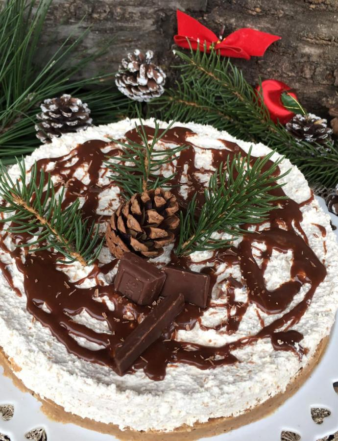Nepečena torta sa kesten pireom