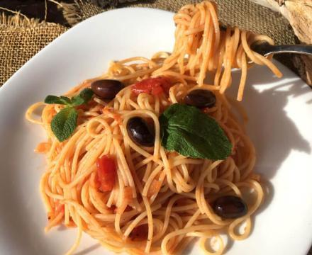 Špageti Olivija