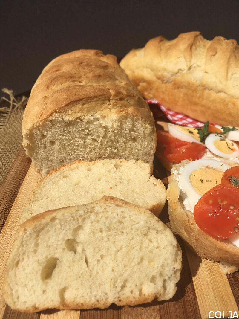 mlečni hleb sa pavakom