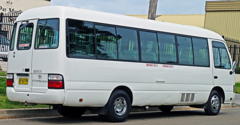 Toyota Luxury Coster for Transfer