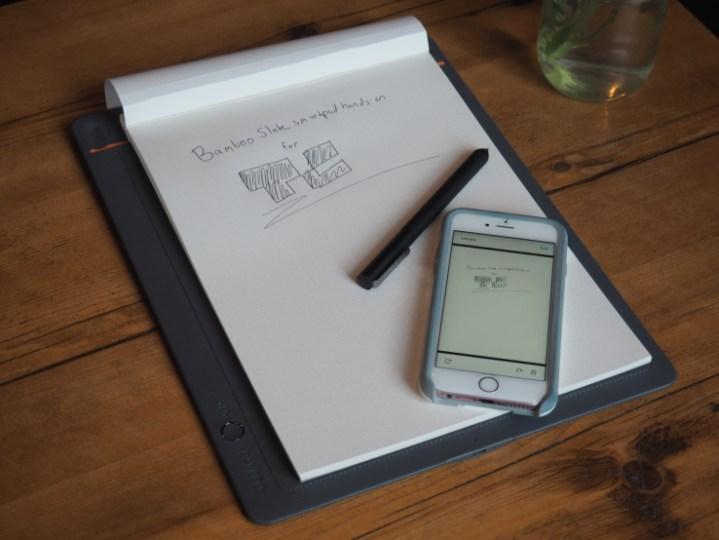 إطلاق الجهاز الذكي BAMBOO في الأسواق: ما تكتبه على الورق ينتقل إلى الموبايل