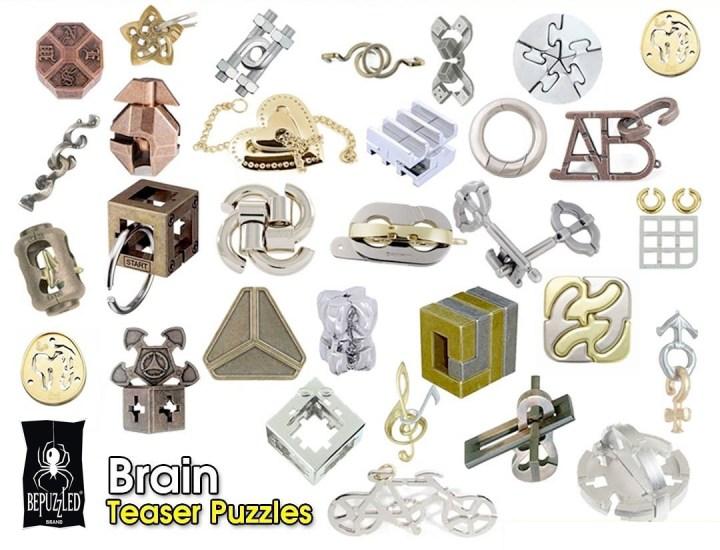 Brain Teaser Puzzles at Fenteg ألغاز بظل هاناياما متوفرة بفنتج