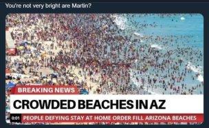 アリゾナのビーチ