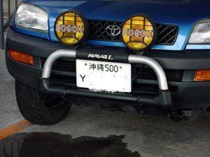 沖縄には「Yナンバー」の車が走っている