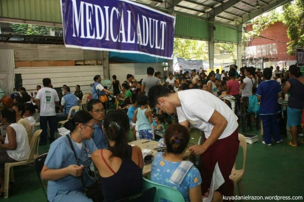"""Because of this medical mission, many were able to avail of free medication especially those who cannot afford going to doctors because of the high fee. They don't have the capacity to pay,"" Barangay 157 Captain Joan Flores was thankful for the outreach program."