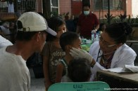 The UNTV 3rd People's Day volunteer doctors attend to the patients with utmost care and provide general check-up to make sure all of their medical concerns are addressed.