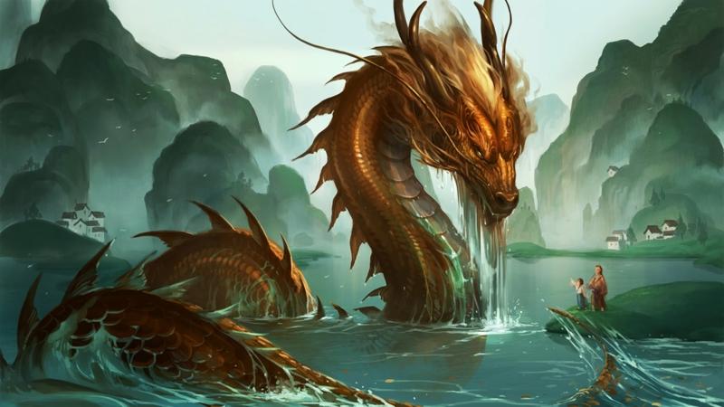 Penampakan Naga China