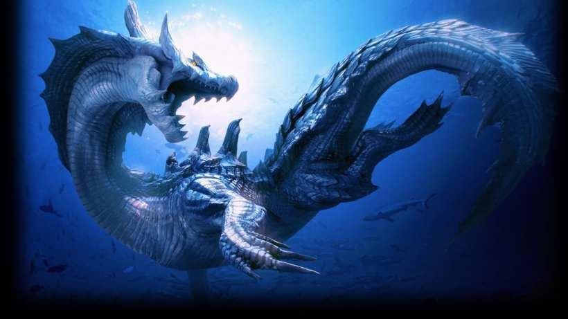 Penampakan Naga Laut