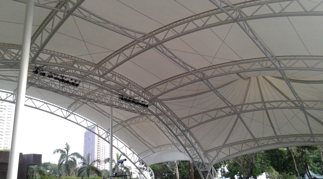 Rizal park open air auditorium