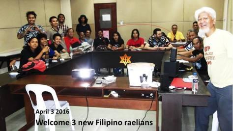 raelian philippines et day