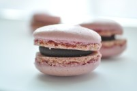 December: Fell in love with Trader Joe's in an attempt to eat healthier (these are their peppermint macarons).