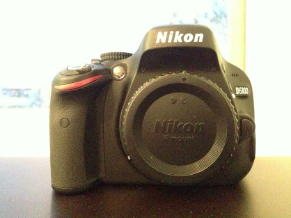 December: Got a Nikon D5100 from my parents. I'm hoping to use it well and improve my photography!