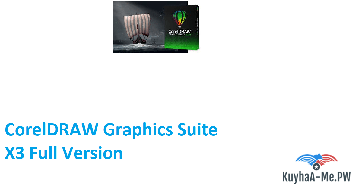 CorelDRAW Graphics Suite X3 Full Version [PC]