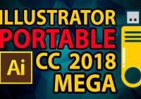 Download Portable Adobe Illustrator CC 2018 Kuyhaa Full Version