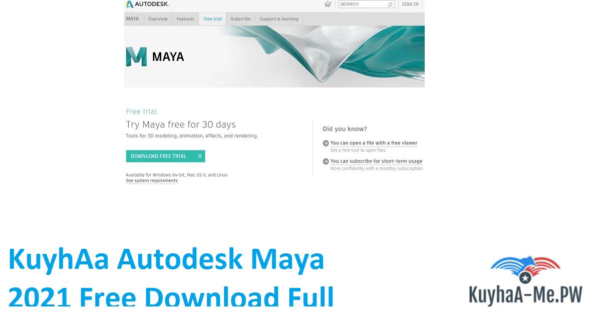 kuyhaa-autodesk-maya-2021-free-download-full