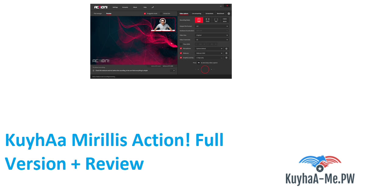 Mirillis Action! Full Version Terbaru [PC]
