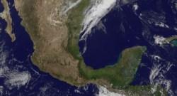 México desde Satellite por NASA Goddard Space Flight Center