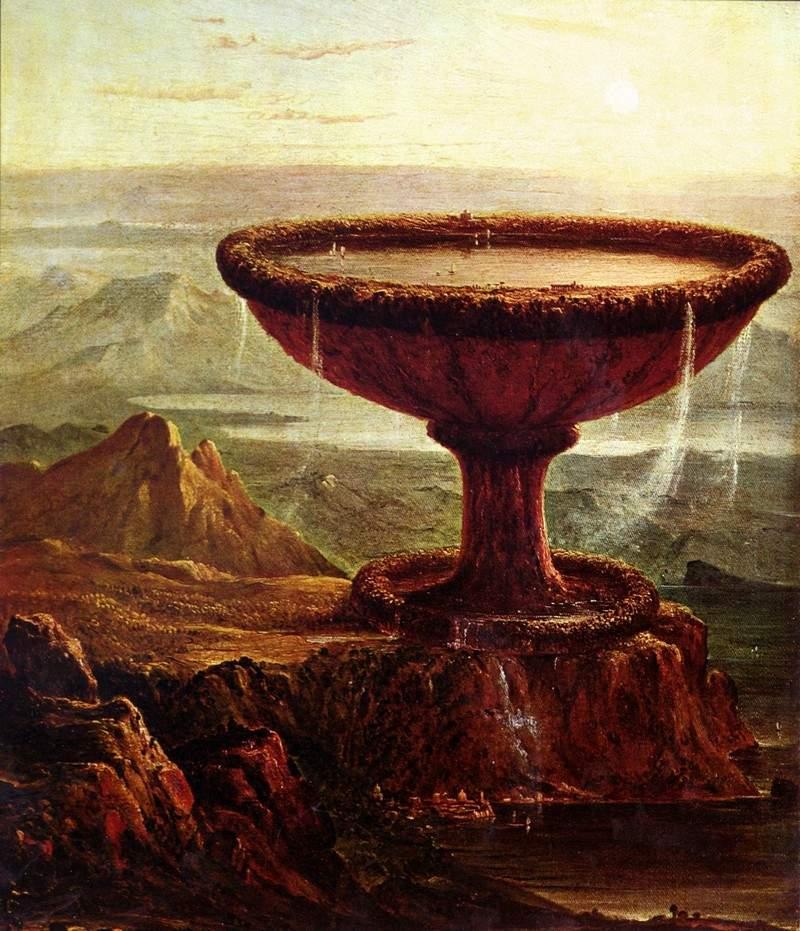 Томас Коул. Чаша Титана.