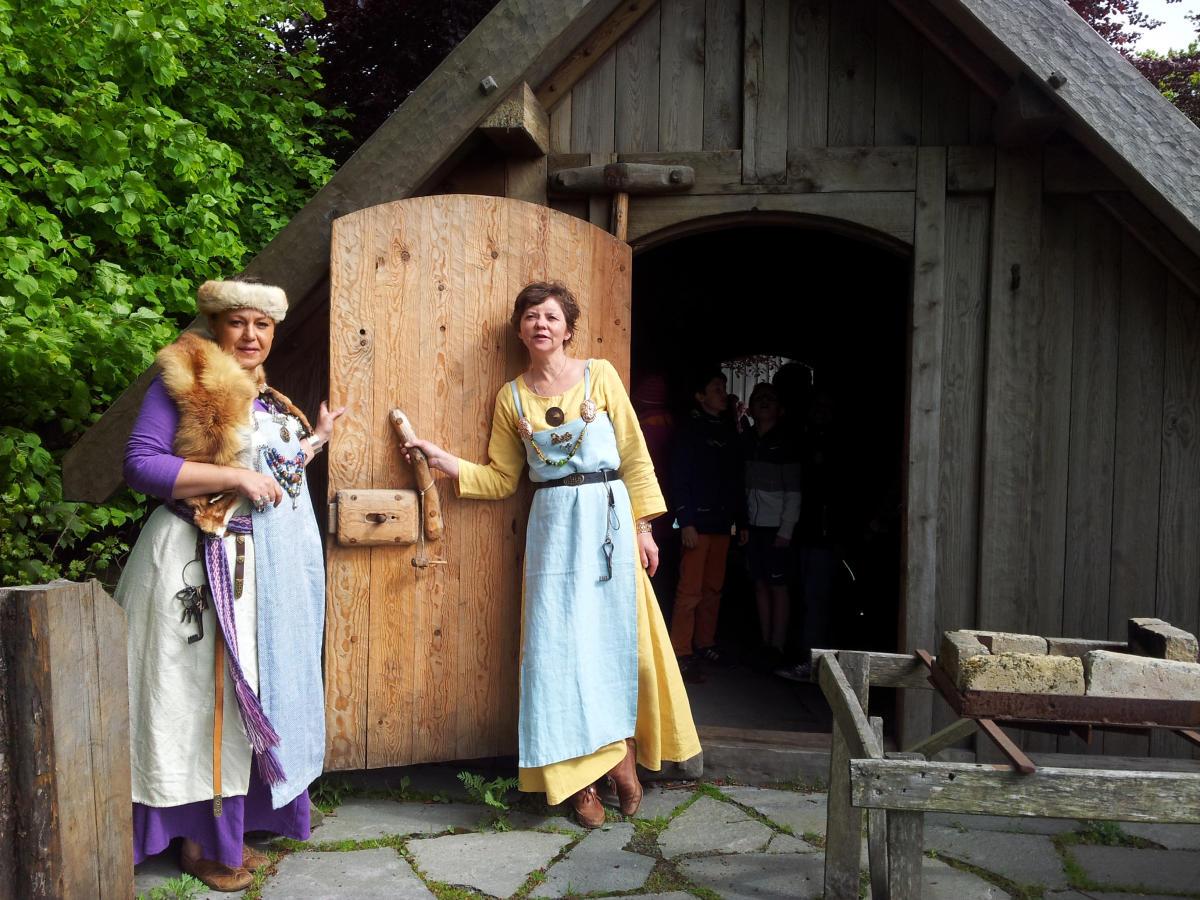 avrupa rüyası kaupang viking köyü